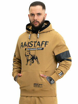 Amstaff rovul Ziphoodie Hommes Pull Taille S à 4xl