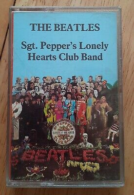 The Beatles - Sgt. Pepper's Lonely Hearts Club Band Cassette Tape (1987)