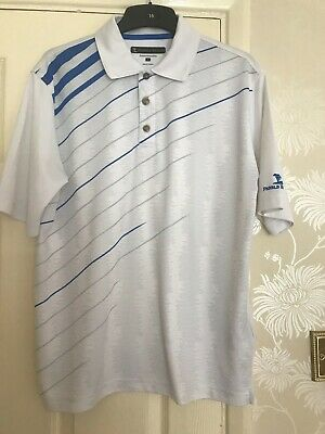 Mens Golf Polo Top By Pebble Beach Size S