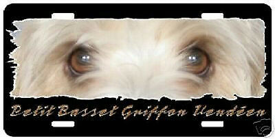 "Petit Basset Griffon Vendeen  "" The Eyes Have It  Plate"