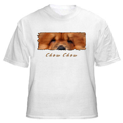 """Chow  Chow """" The Eyes Have It """" Custom Tshirt"""