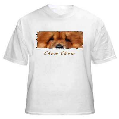 """Chow  Chow   """" The Eyes Have It """"   Custom   T shirt"""