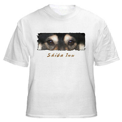 "Shiba  Inu # 1   "" The Eyes  Have It "" Custom Tshirt"