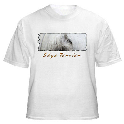 "Skye Terrier  "" The Eyes  Have It ""  Custom   T shirt"