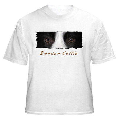 """Border Collie  # 1  """" The Eyes Have It """"  Custom   T shirt"""