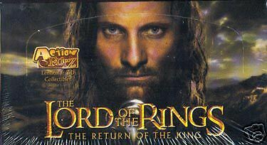Lord Of The Rings Return Of The King Action Flipz 2003 Artbox Trading Card Box