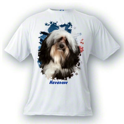 Havanese   # 1  Stars & Stripes  Custom  PERSONALIZED  Pet  T shirts