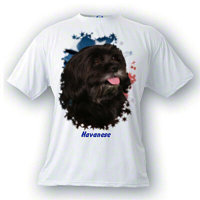 Havanese   # 2  Stars & Stripes  Custom  PERSONALIZED  Pet  T shirts