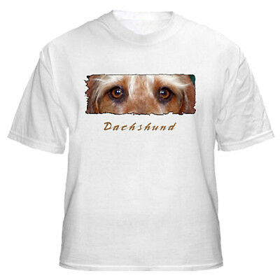 """Dachshund   wirehaired    """" The Eyes Have It """"    T shirt"""