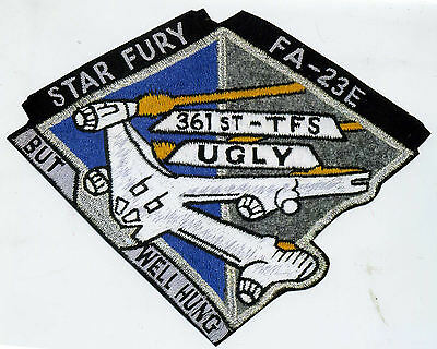 B5   Babylon 5 Ugly But Well Hung Squadron Patch