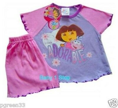 Latest Dora The Explorer Shortie Pyjamas 18-24 Month Bn