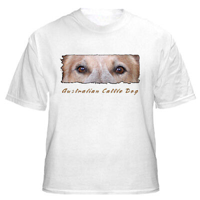 """Australian Cattle Dog    # 3   """"The Eyes Have It""""   T shirt"""