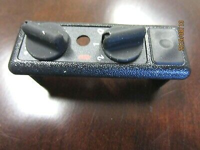 New Minitor II Case top with knobs reset Black Motorola