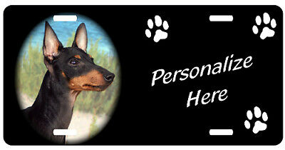 Manchester  Terrier    Personalized    Pet License  Plate