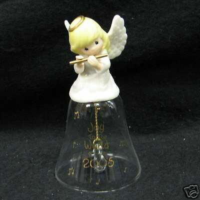 Precious Moments Joy To The World 2005 Bell NIB 4004845