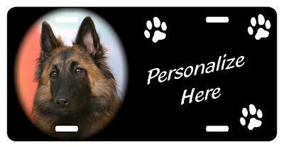Belgian  Tervuren     Personalized     Pet  License  Plate