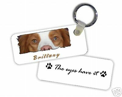 "Brittany  "" The Eyes Have It  ""  Key  Chain"