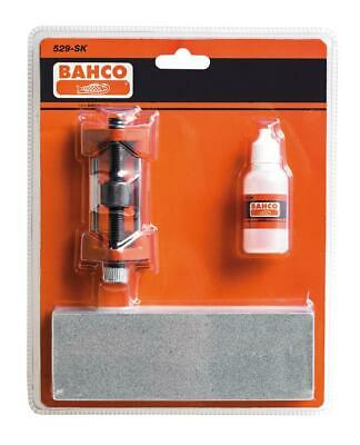 BAHCO Honing Sharpening Oil Stone,Guide Kit For Wood Chisel Plane Blade, 529-SK