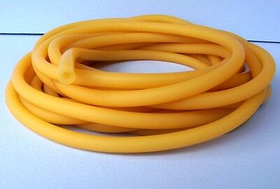 """Amber Latex Tubing  """"by The Foot""""  1/4"""" Id 3/32"""" Wall"""