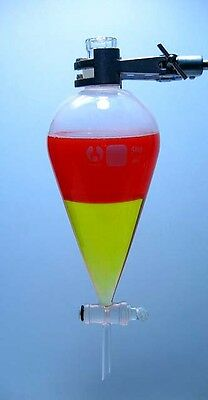 SEPARATORY FUNNEL 500 mL w/ GROUND GLASS STOPCOCK