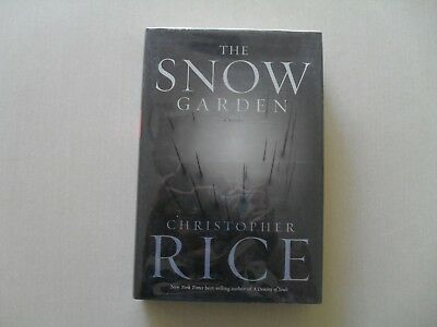 The Snow Garden by Christopher Rice - Signed 1st Printing - Hyperion, 2001