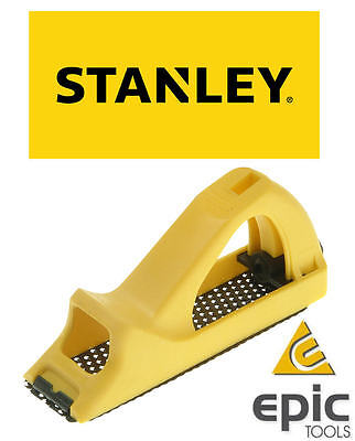 "STANLEY 6"" (150mm) Moulded Surform Pocket Block Plane Wood Hand Rasp, 521104"
