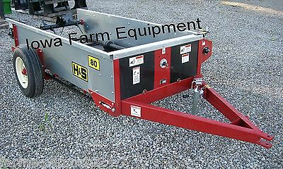 H&S 80 Bu PTO Driven Manure Spreader: ABSOLUTELY BEST BRAND & BUY!!!