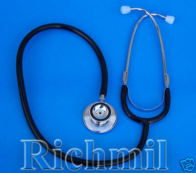 New Double / Dual Head Stethoscope  Doctor Nurse Vet UK