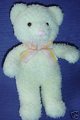 "Russ Sprinkles 9"" Bear With Inner Rattle Cream Colour Item 1398~ U7"