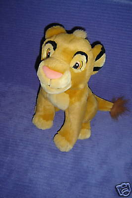 "Disney Store Young Simba 13"" Sitting  Lion King ~ Z14"