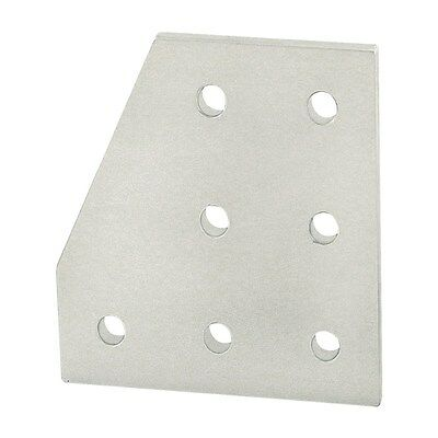 80/20 Inc Aluminum 7 Hole 90 Degree Angled Stacked Flat Plate 10 Series #4129 N