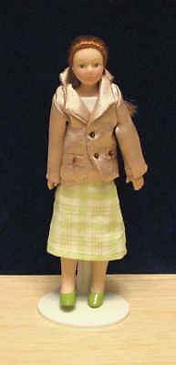 1/12, Dolls House Miniature Lady Jenny Doll B. NEW, people miniatures dolly LGW
