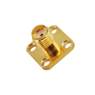 SMA female chassis connector 4 holes