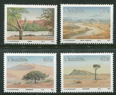 Namibia 1993 Namib Desert Landscapes Mint Set Of Four!