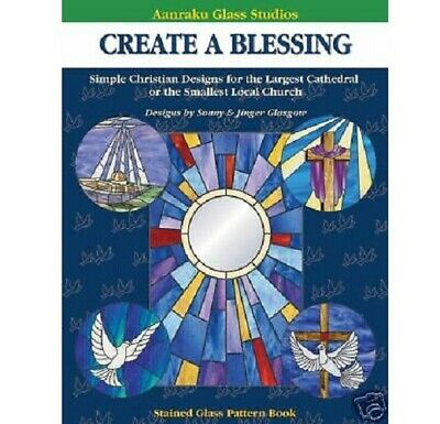 Stained Glass Aanraku -CREATE A BLESSING  PATTERN BOOK