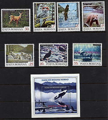 Romania Wild Animals - Whale Issue Mint Complete!
