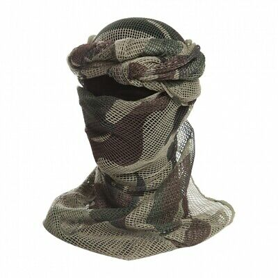 Cheche Filet  Camouflage  Armee Militaire  Airsoft Chasse Echarpe Ls