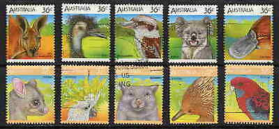Beautiful Australian Animal Sets Of 10 Stamps Complete!