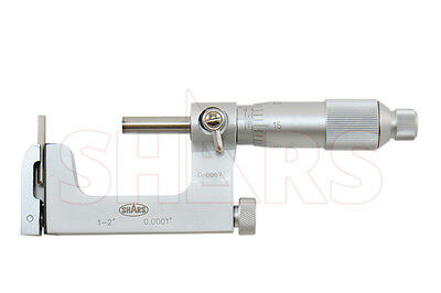 "1 - 2"" Best Precision Mul- T- Anvil Micrometer .0001"""