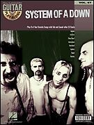 SYSTEM OF A DOWN PLAY ALONG GUITAR TAB SONG BOOK W/CD