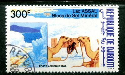 Djibouti 1989 Camels - Salt - Lake Assal Issue Complete