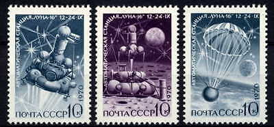 Russia 1970 Luna 16 - Space Stamps - Mint Complete Set!