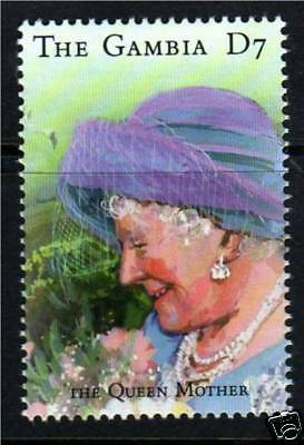 Gambia 2000 Queen Mother 100th Birthday SG 3634 MNH