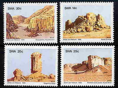 Swa 1986 Rock Formations - Geology Stamps - Mint Set!