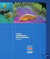 PADI Manual Digital Photography Specialty Diving Course