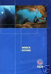 DVD Wreck Diving PADI Specialty Dive Course 70888