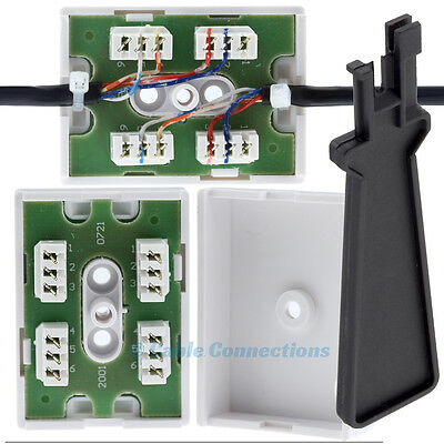 Junction Box For Telephone Cable Wire Bt77A+Idc Tool 2/3 Pair Joining Connection