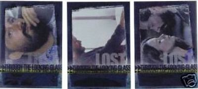 Lost Season 3 - Through The Looking Glass - Insert Chase Card Set Of 3