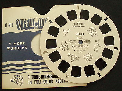 View-Master # 2003 BERN SWITZERLAND 1948