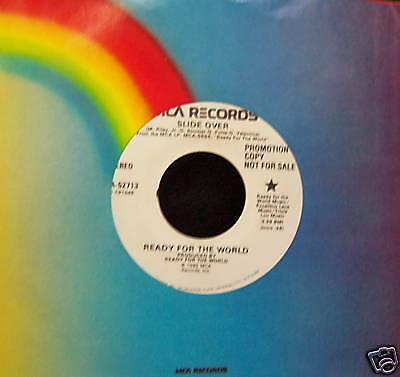 """Ready For The World - New Jack Swing - SLIDE OVER - Promo 7"""" Single [1985] - NM"""